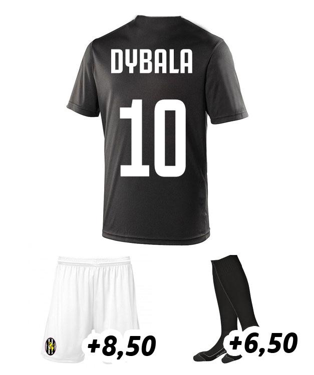 quality design cb1db 0c7fa dybala replica shirt juventus zwart